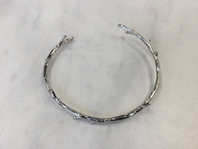 Statement Grey Brindle bracelet