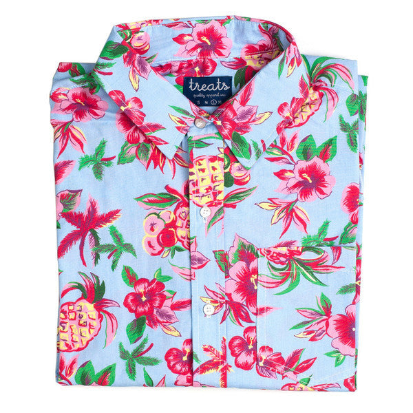 Treats Honolulu Short Sleeve Button Down Shirt