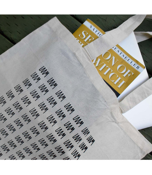 LAAM Logo Screen Printed Tote (Black)