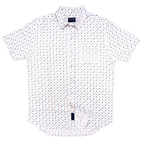 Treats Puerto Vallarta Short Sleeve Button Down Shirt