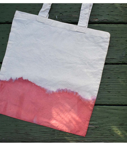 LAAM Dip-Dyed Tote (Red)