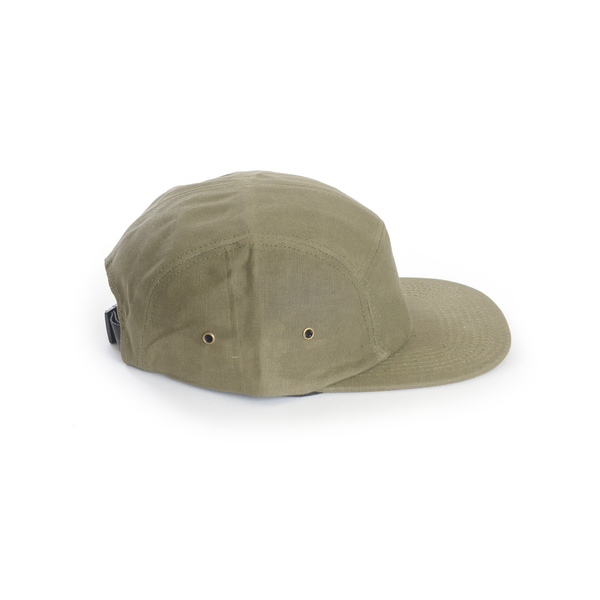 Waxed Canvas (Army Green) 5-Panel Hat