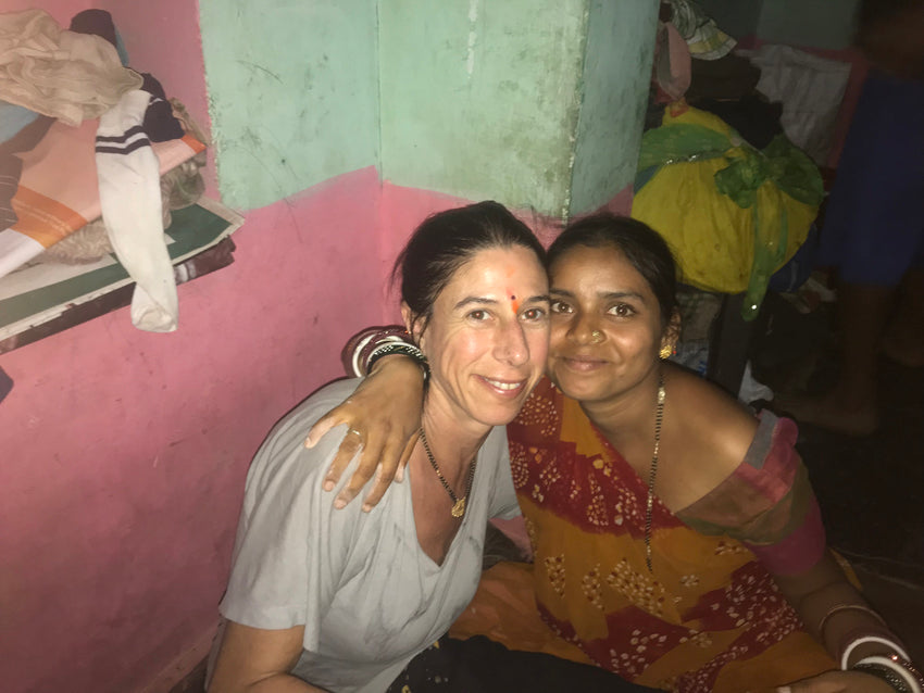 Poonam and me...