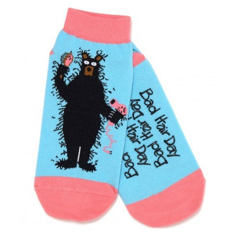 Hatley Womens Ankle Socks - Bad Hair Day - Eloquence Boutique