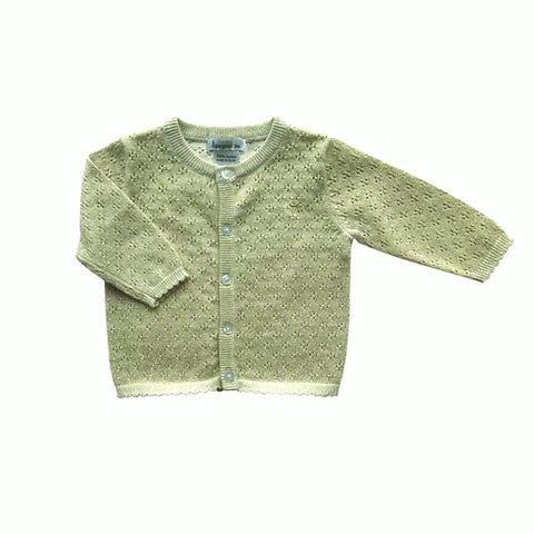 Beanstork Cardigan - Baby Gold - Eloquence Boutique