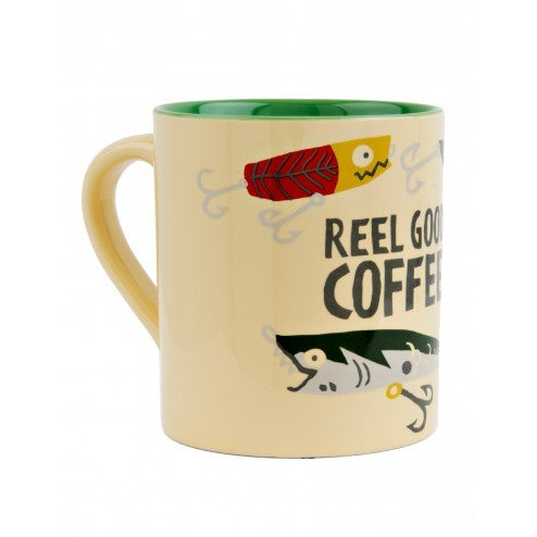 Hatley Coffee Mug - Reel Good Coffee - Eloquence Boutique