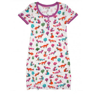 Hatley Night Dress - Party Fox
