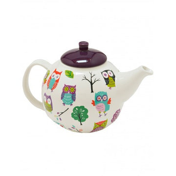 Hatley Tea Pot - Party Owls
