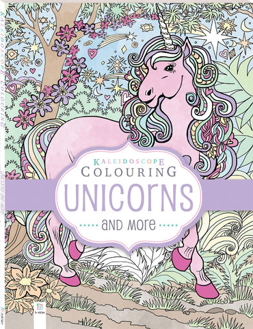 Kaleidoscope Colouring Book - Unicorns and More