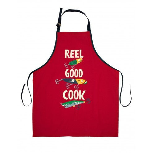Hatley Apron - Reel Good Cook - Eloquence Boutique