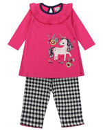 Lilly + Sid Dress & Leggings - Unicorn - Eloquence Boutique