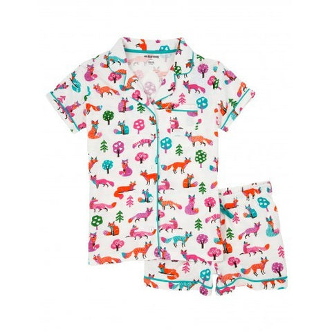Hatley Womens Pyjamas - Party Fox - Eloquence Boutique