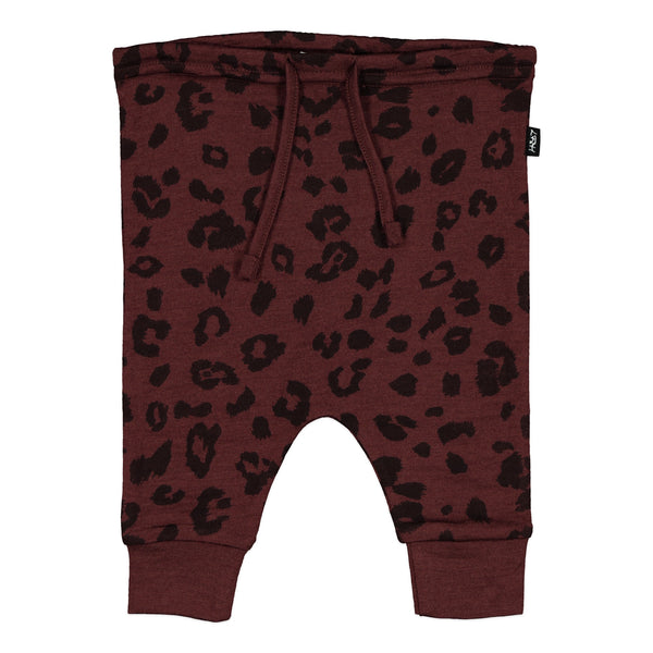 Little Flock of Horrors Asher Pants - Mulberry Cheetah - Eloquence Boutique