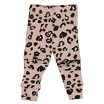 Little Flock of Horrors Slasher Leggings - Blush Cheetah - Eloquence Boutique