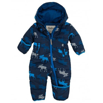 Hatley  Infant Puffer - Graphic Moose