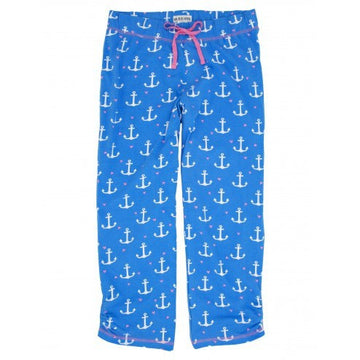 Hatley Womens Pyjama Pants  - Anchors