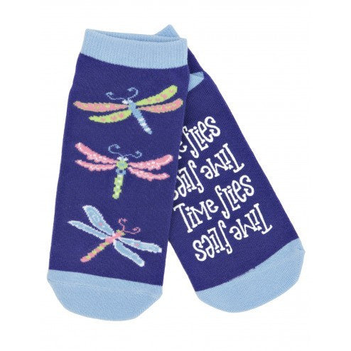Hatley Womens Ankle Socks - Time Flies - Eloquence Boutique