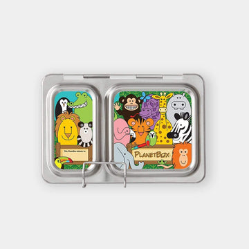 PlanetBox Shuttle Magnets - Wild Animals