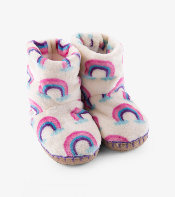 Hatley Slippers - Pretty Rainbows - Eloquence Boutique