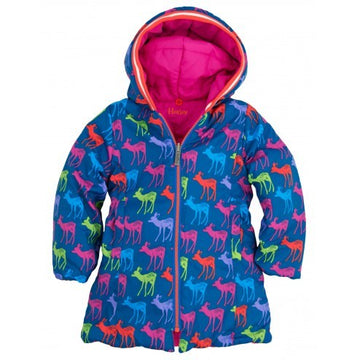 Hatley - Graphic Deers Reversible Puffer