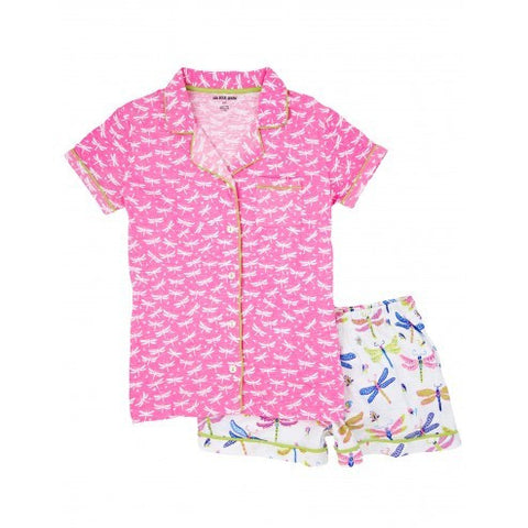 Hatley Womens Pyjamas - Dragonflies - Eloquence Boutique