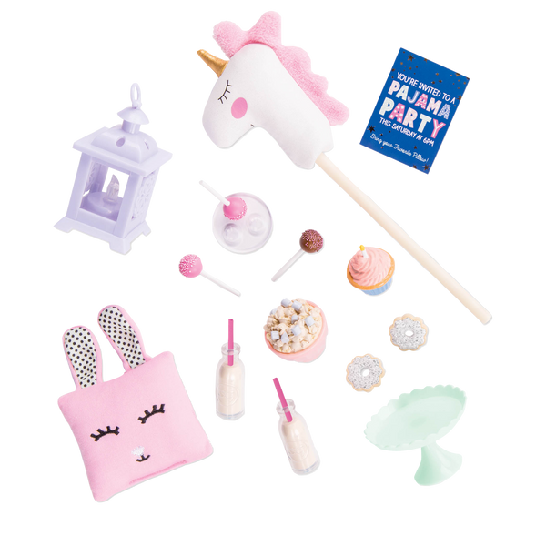 Our Generation Dolls - Unicorn Sleepover Set