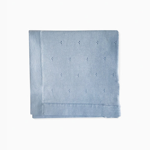 Beanstork Blanket - Soft Blue