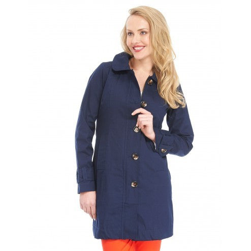 Hatley Womens Rain Jacket - Classic Navy - Eloquence Boutique