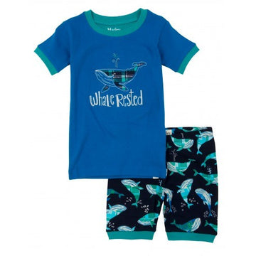 Hatley Pyjamas - Whale Rested