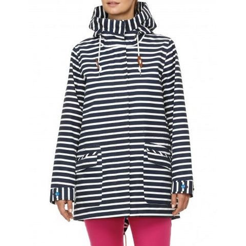 Hatley Womens Field Jacket - Nautical - Eloquence Boutique