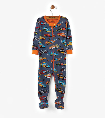 Hatley Coverall - Monster Cars