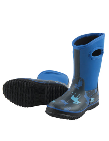 Hatley All Weather Boots - Blue Moose
