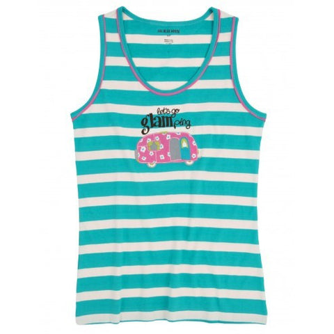 Hatley Womens Pyjama Tank - Glamping - Eloquence Boutique