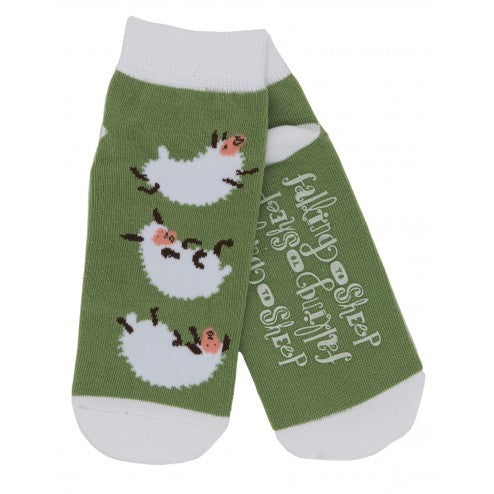 Hatley Womens Ankle Socks - Falling to Sheep - Eloquence Boutique
