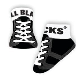 All Blacks Baby Socks - Eloquence Boutique
