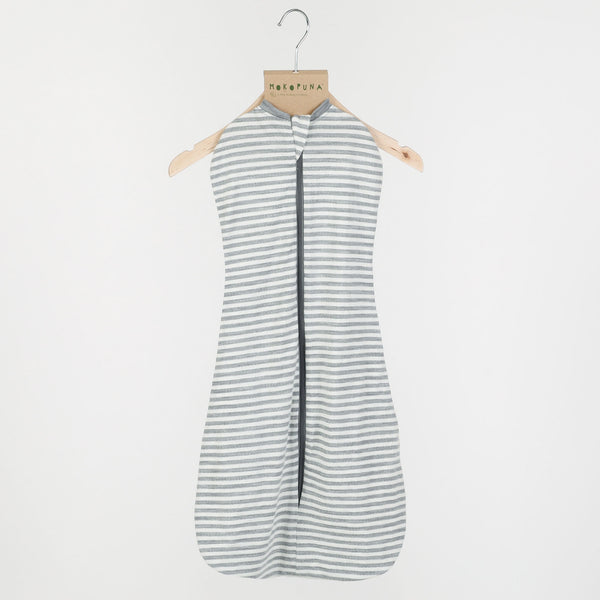 Mokopuna Swaddle Cocoono - Cloudy Bay Stripe - Eloquence Boutique