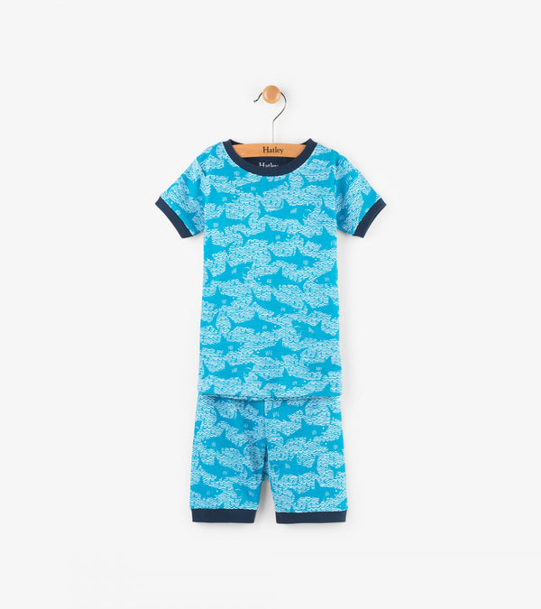 Hatley Pyjamas - Shark Alley
