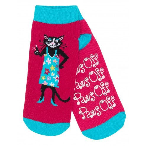 Hatley Womens Ankle Sock - Paws Off - Eloquence Boutique