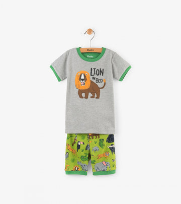 Hatley Pyjamas - Lion in Bed
