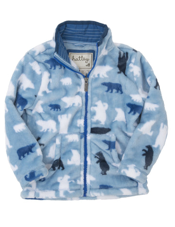 Hatley - Polar Bear Fuzzy Fleece Jacket