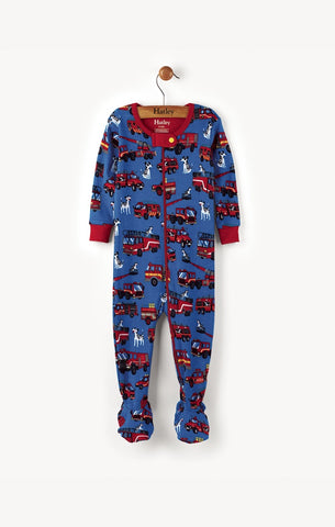 Hatley Coverall - Fire Trucks