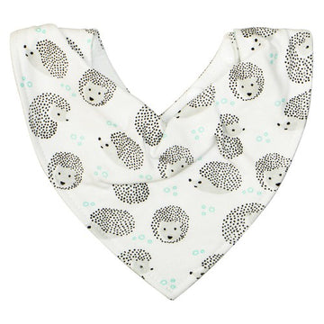 Silly Billyz Bandana Bib - Hedgehog