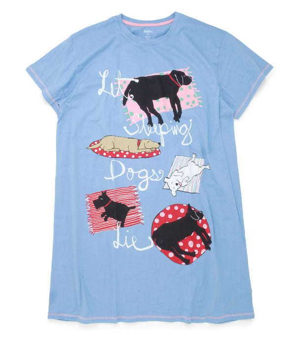 Hatley Sleepshirt - Let Sleeping Dogs Lie - Eloquence Boutique