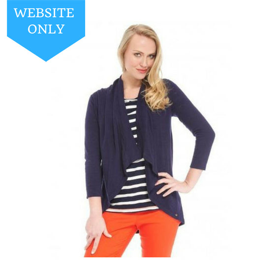 Hatley Womens Knit Wrap - Navy - Eloquence Boutique