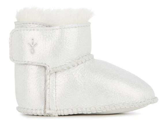 Emu Bootie - Silver - Eloquence Boutique