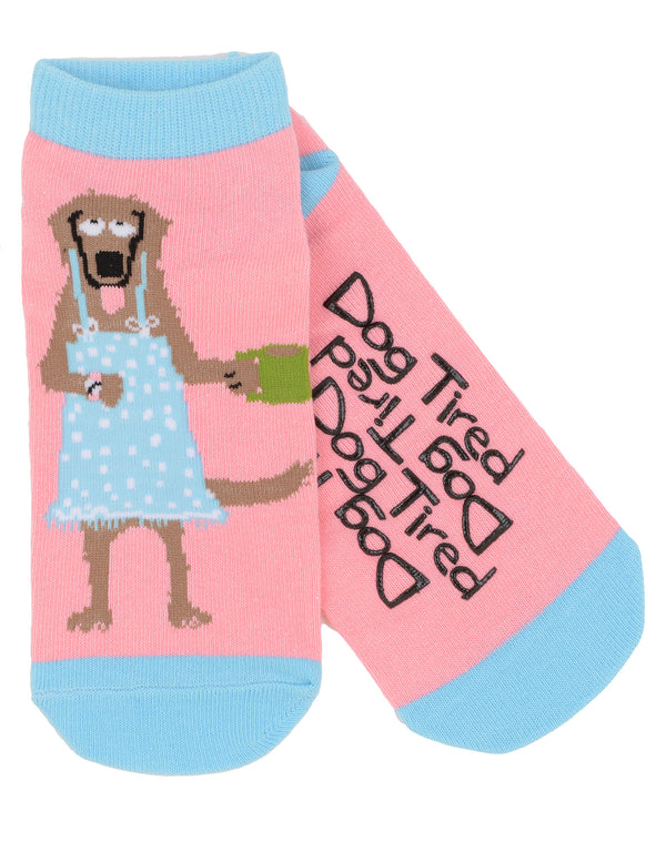 Hatley Womens Ankle Socks - Dog Tired - Eloquence Boutique