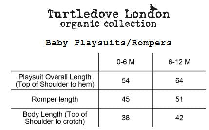 Turtledove Romper - Our House