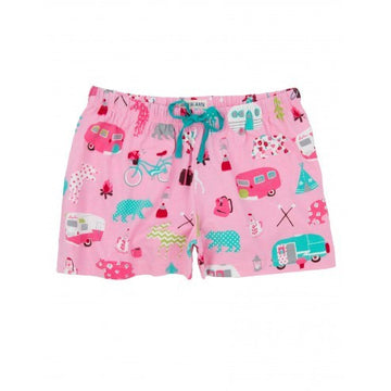 Hatley Womens Boxers - Glamping