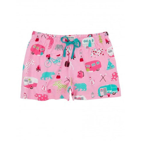 Hatley Womens Boxers - Glamping - Eloquence Boutique