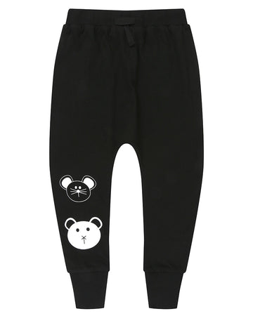 Turtledove Pants - Animal Faces
